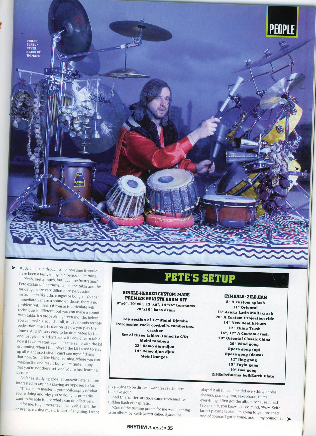 Pete Interview [Rhythm]