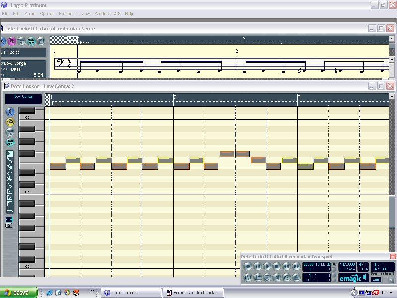 Programming latin percussion parts